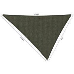 Shadow Comfort driehoek 4x5x5,4 Deep Grey