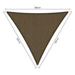 Shadow Comfort driehoek 5x5x5 Japanese Brown