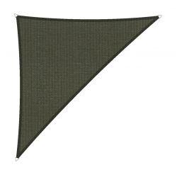 Schaduwdoek driehoek 90° 4x4x5,7 Donkergrijs