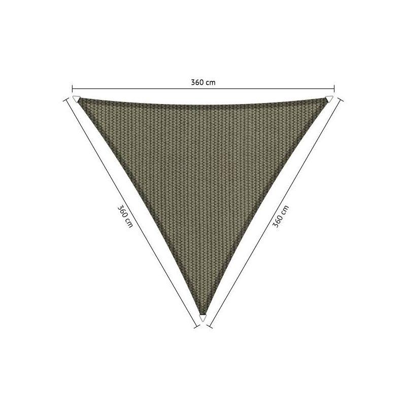 Shadow Comfort driehoek 3,6x3,6x3,6 Desert Storm
