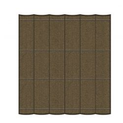 Harmonicadoek Shadow Comfort Japanese Brown 3,7x3,7m
