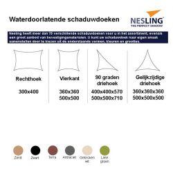 Nesling Coolfit 3x4