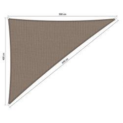 Shadow Comfort waterafstotend driehoek 90° 4x5x6,4 Stonegrey