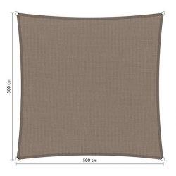 Shadow Comfort waterafstotend vierkant 5x5 Stonegrey