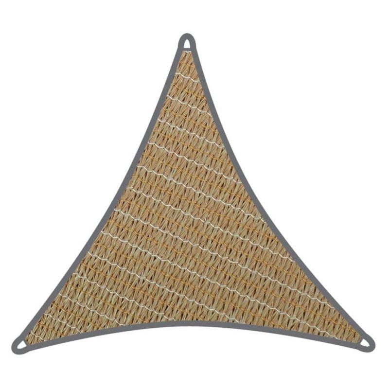 Coolaroo schaduwdoek driehoek 6,5x6,5x6,5m Zand