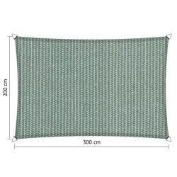 Shadow Comfort rechthoek 2x3m Country Blue