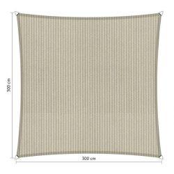 Shadow Comfort vierkant 3x3m Sahara Sand