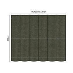 Harmonicadoek Shadow Comfort incl. bevestigingsset Deep Grey 2,90x6,00 meter