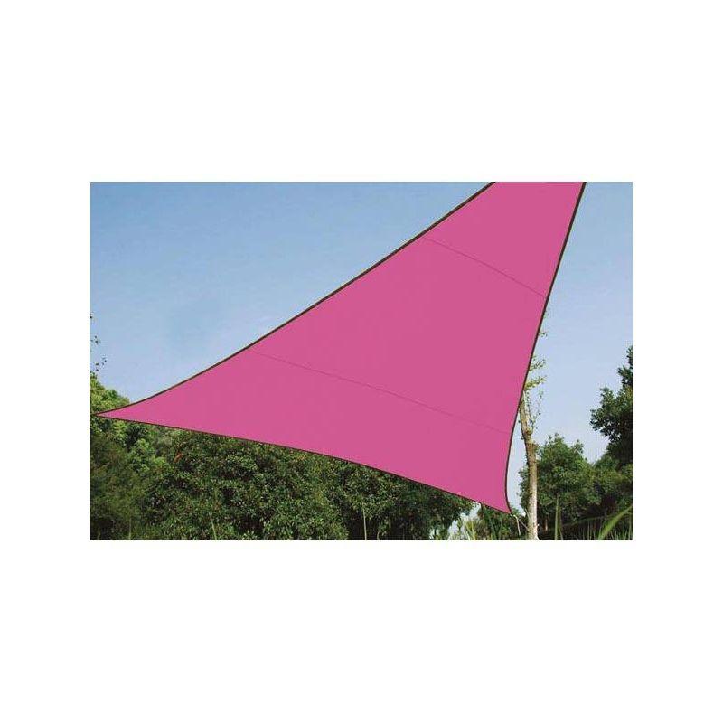 ZONNEZEIL - DRIEHOEK - 5 x 5 x 5 m - KLEUR: FUCHSIA