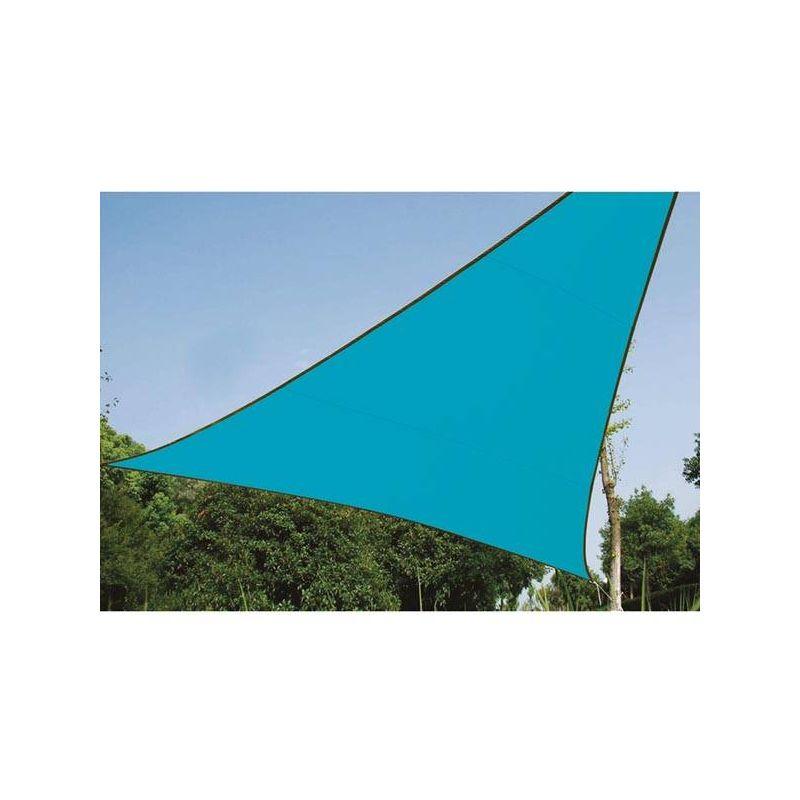 ZONNEZEIL - DRIEHOEK - 3.6 x 3.6 x 3.6 m - KLEUR: HEMELSBLAUW