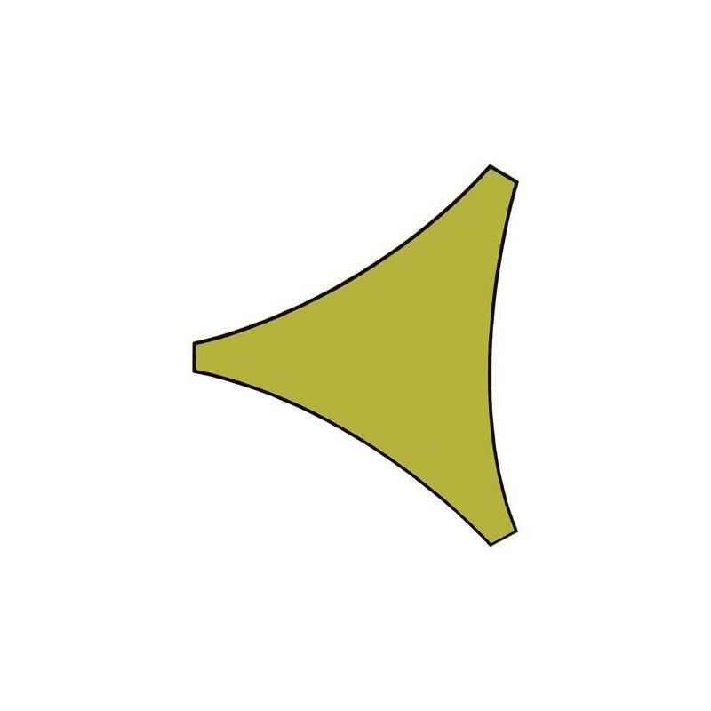 ZONNEZEIL - DRIEHOEK - 5 x 5 x 5 m - KLEUR: LICHTGROEN