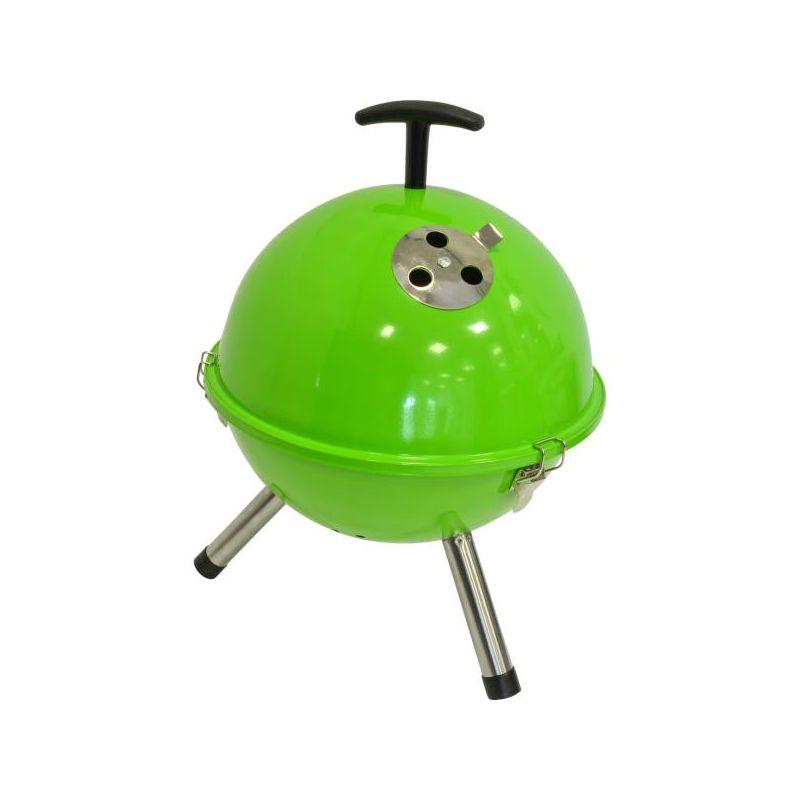 Barbecue tafelmodel kogel, Ø32cm groen