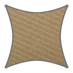Coolaroo schaduwdoek Vierkant 3x3m Zand