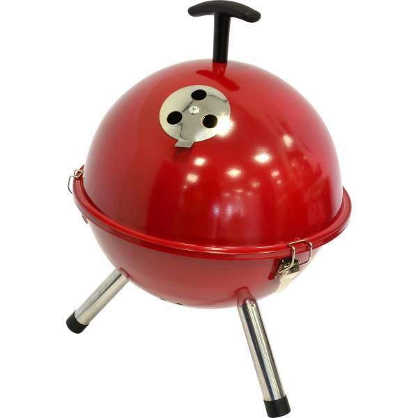 Afbeelding van Barbecue tafelmodel kogel, Ø32cm rood